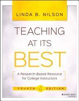 Teaching at Its Best PDF