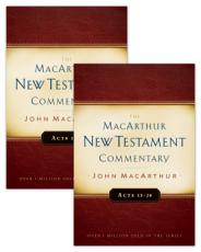 Acts 1 28 MacArthur New Testament Commentary Two Volume Set PDF