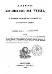 Algemeene geschiedenis der wereld: van de schepping tot op den tegenwoordigen, oorspronkelijk bewerkt, Volume 1