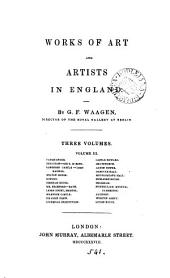 Works of art and artists in England