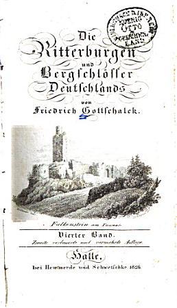 Die Ritterburgen und Bergschl  sser Deutschlands PDF