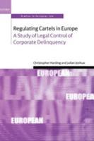 Regulating Cartels in Europe PDF