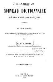 Nouveau dictionnaire néerlandais-français et français-néerlandais