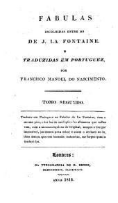 Fabulas: escolhidas entre as de J. La Fontaine. e traduzidas em portuguez