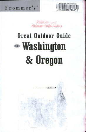 Frommer s Great Outdoor Guide to Washington   Oregon PDF