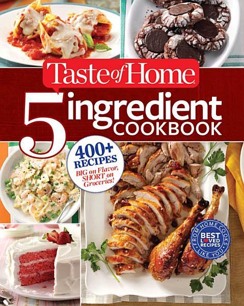 Download Taste of Home 5 Ingredient Cookbook Book