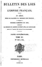Bulletin des lois de la République française
