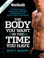 Men s Health The Body You Want in the Time You Have PDF