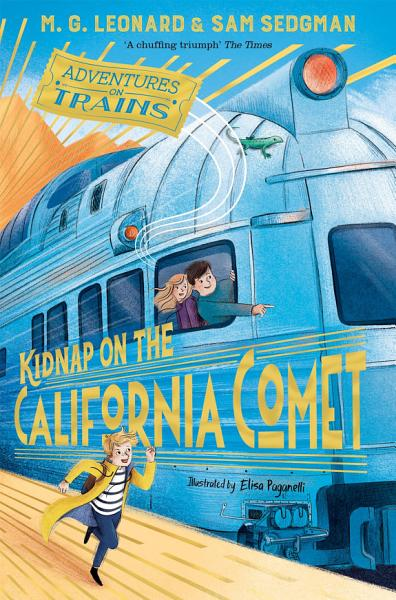 Download Kidnap on the California Comet Book