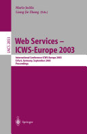 Web Services - ICWS-Europe 2003