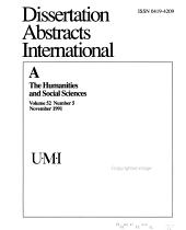 Dissertation Abstracts International PDF