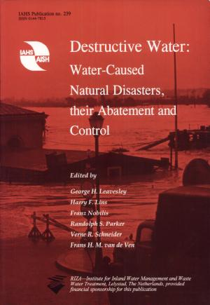 Destructive Water PDF