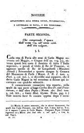 Notizie appartenenti alla storia della sua patria: Volume 2