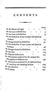 The elements of optics: Volume 1