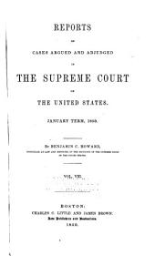 United States Reports: Cases Adjudged in the Supreme Court, Volume 49
