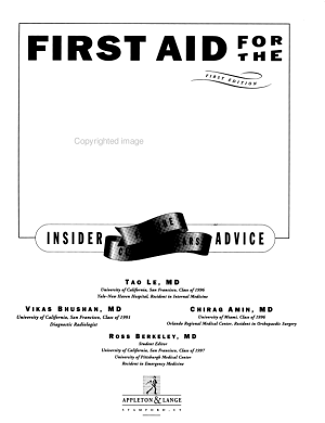 First Aid for the Wards PDF