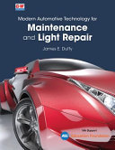 Modern Automotive Technology for Maintenance and Light Repair