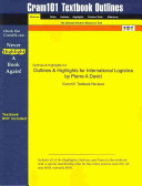 Outlines and Highlights for International Logistics by Pierre a David  Isbn PDF