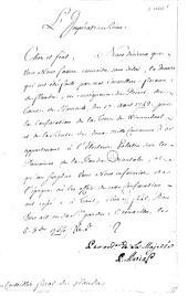 Pièces et documents concernant une contestation au sujet de la seigneurerie de Wynendale, 1764-1765