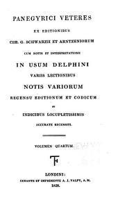 Panegyrici veteres: Volume 4