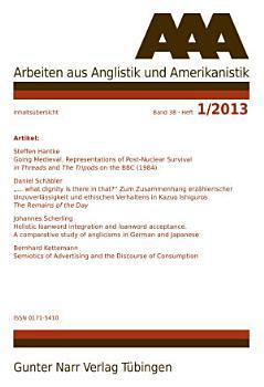 AAA Arbeiten Aus Anglistik und Amerikanistik 2013 PDF