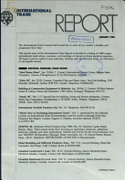 International Trade Report PDF