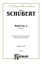 Mass No. 2 in G Major: SATB with SATB Soli Choral Worship Cantata