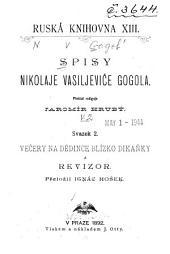 Spisy Nikolaje Vasiljeviče Gogola: Svazek 2