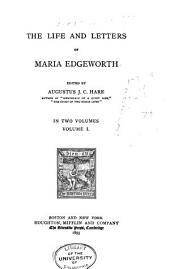 The Life and Letters of Maria Edgeworth: Volume 1