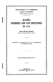 Alaska Fishery and Fur-seal Industries