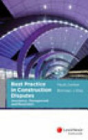Best Practice in Construction Disputes PDF