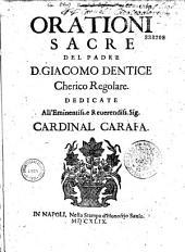 Orationi sacre