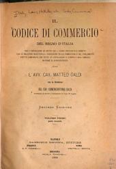 Il Codice di commercio del regno d'Italia ...