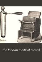The London Medical Record PDF