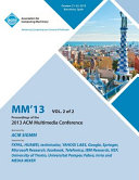 MM 13 Proceedings of the 2013 ACM Multimedia Conference PDF