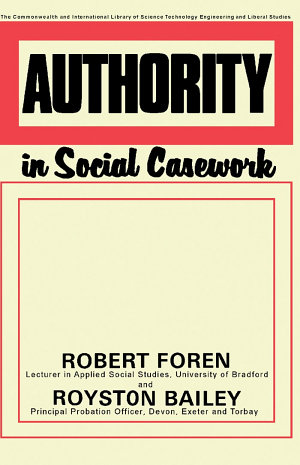 Authority in Social Casework