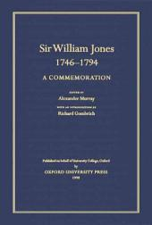 Sir William Jones, 1746-94: A Commemoration