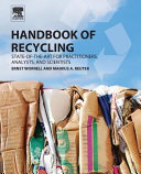 Handbook of Recycling  State Of The Art for Practitioners  Analysts  and Scientists