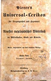 Pierer's Universal Lexikon der Vergangenheit und gegenwart oder Neuestes encyclopadisches Worterbuch ...: 5: Deutschland-euromos