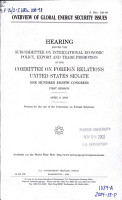 Overview of Global Energy Security Issues PDF
