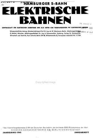 Eb   Elektrische Bahnen PDF
