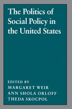 The Politics of Social Policy in the United States PDF