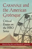 Carniv  le and the American Grotesque PDF