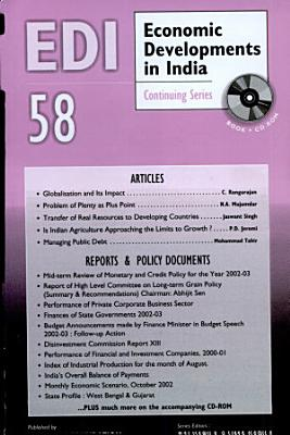 Economic Developments In India   Monthly Update  Volume  58 Analysis  Reports  Policy Documents