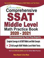 Comprehensive SSAT Middle Level Math Practice Book 2020 - 2021