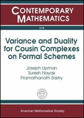 Variance and Duality for Cousin Complexes on Formal Schemes