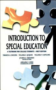 Introduction to Special Education  2007 Ed  Book