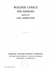 Wagner Lyrics for Soprano