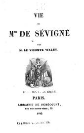 Vie de Mme de Sévigné