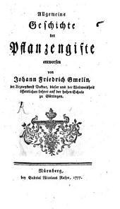Allgemeine Geschichte der Pflanzengifte: Teil 2